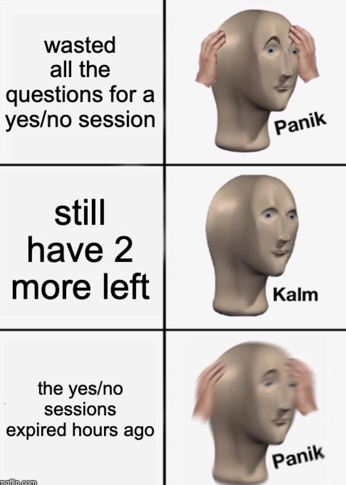 yes/no session